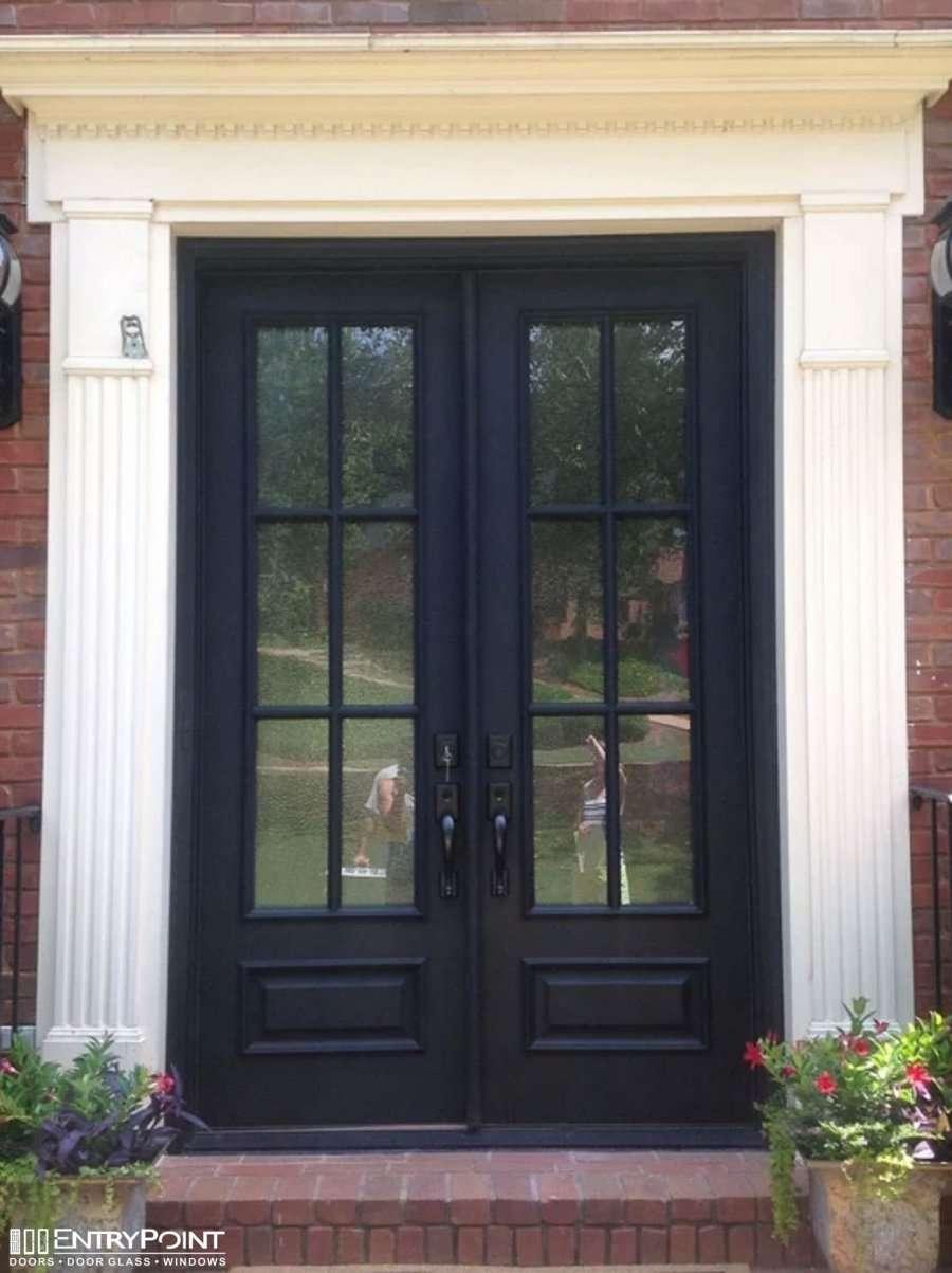 Double Entry Entrypoint Doors Windows Of Atlanta Door Window Replacement