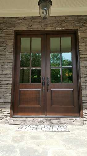 Double Entry Entrypoint Doors Windows Of Atlanta Door